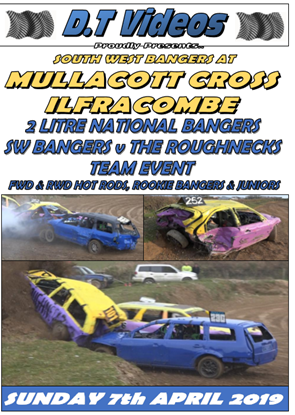 Picture of Mullacott Raceway 7th April 2019 BANGERS HEAD TO HEAD