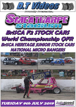 Picture of Smeatharpe Stadium 9th July 2019 BriSCA F2 WCQR