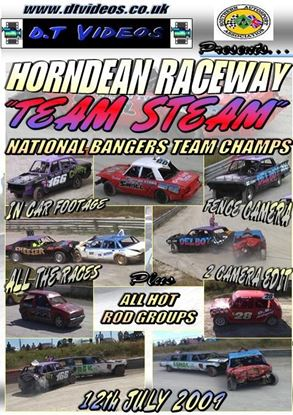 Picture of Horndean Raceway 11th July 2009 TEAM STEAM